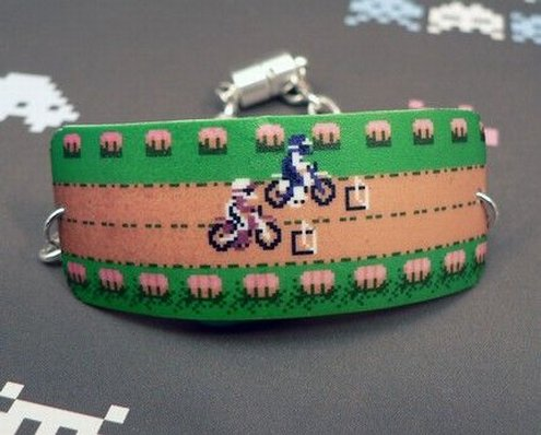 Excitebike Bracelet