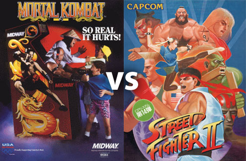 Mortal Kombat Vs Street Fighter V3 (PC)