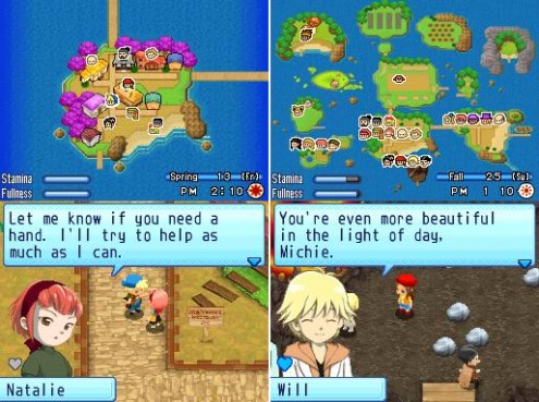 Harvest Moon Sunshine Islands Weather Action Replay Codes