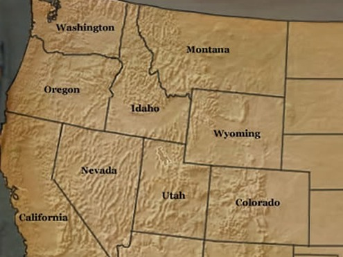 Western+us+national+parks+map