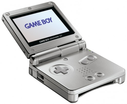 Nintendo Game Boy Advance SP Silver. In 2005, Nintendo released the last
