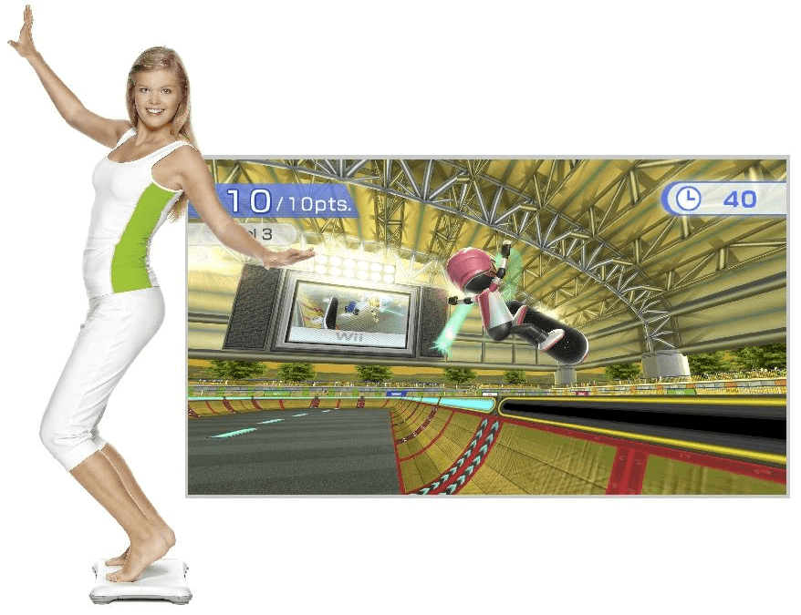 New Game Get apparently still thinks Wii Fit is it