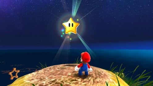 power star super mario galaxy - photo #26