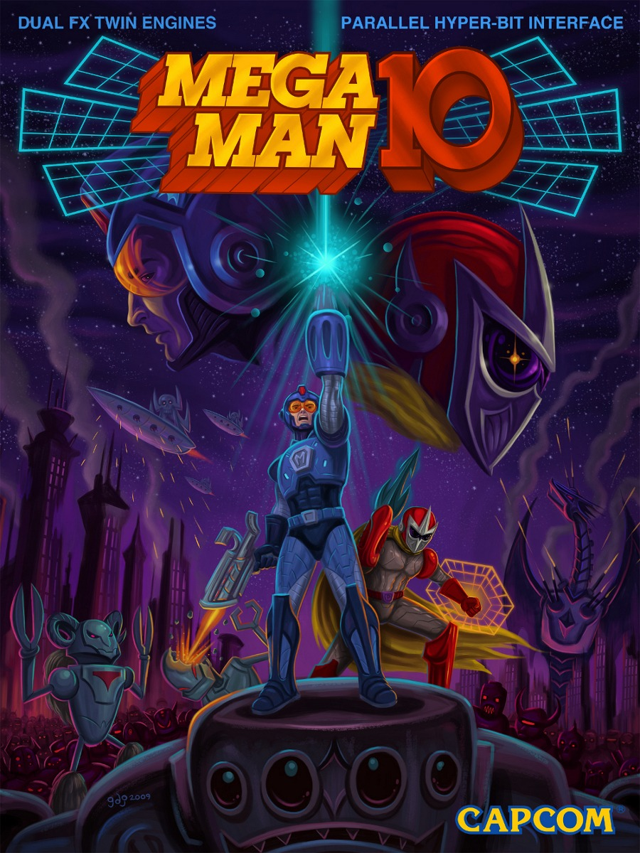 New Game Get: Mega Man 10 is released today!