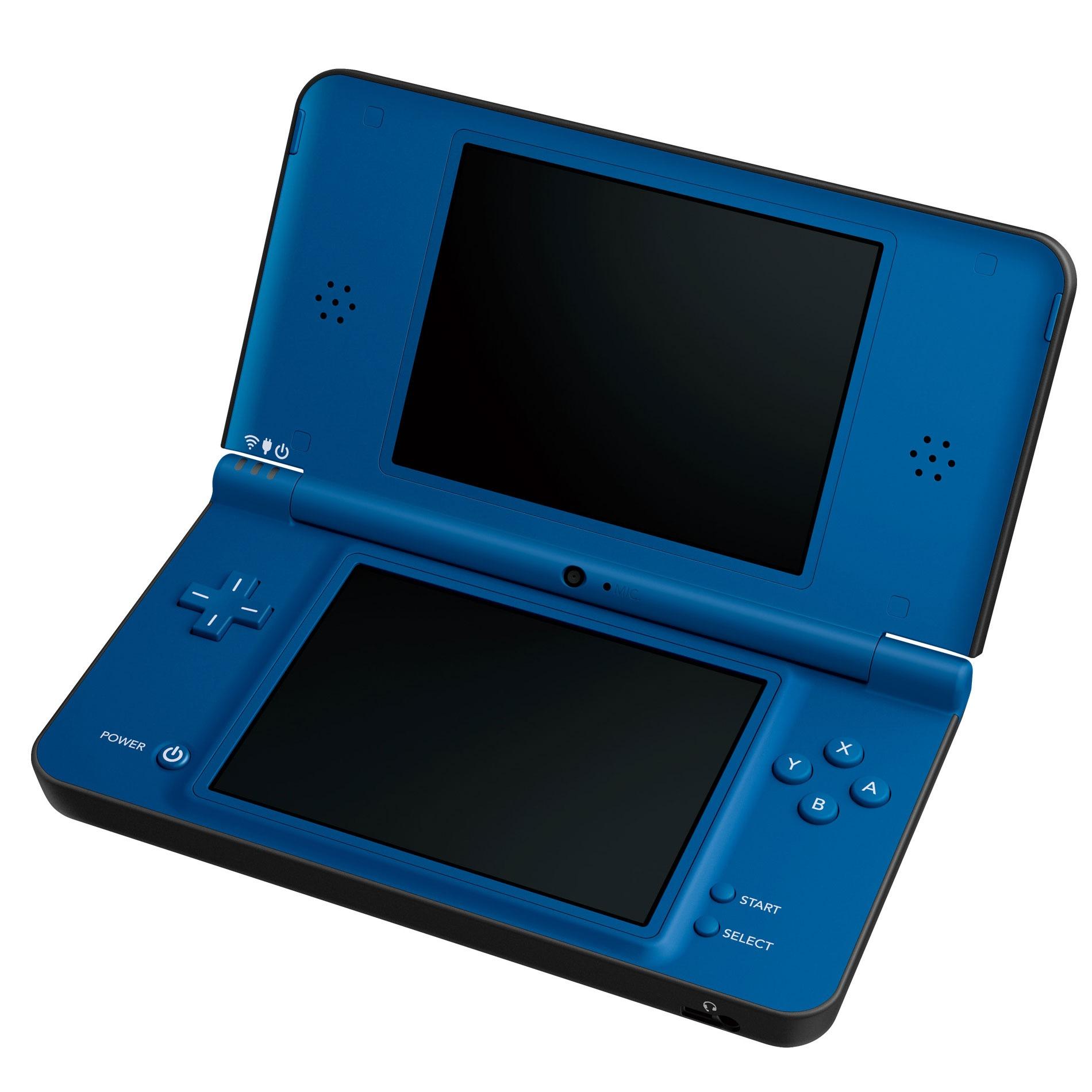 Nintendo launching blue DSi XL this July