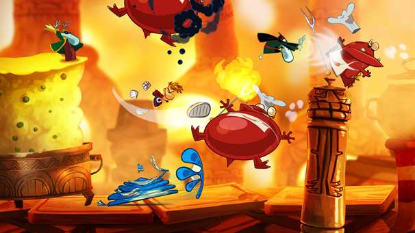 Dreaming: Rayman and Friends.