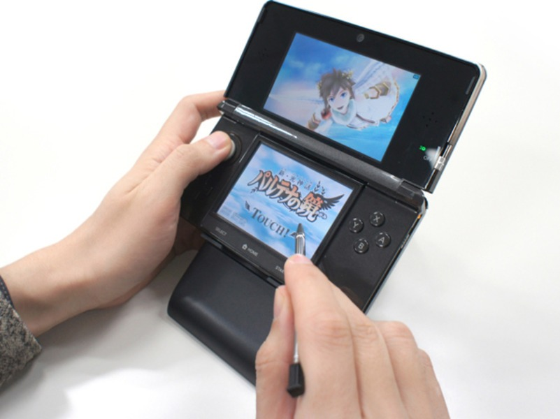 3DS loses its training wheels and upgrades to a kickstand. Or something like that.