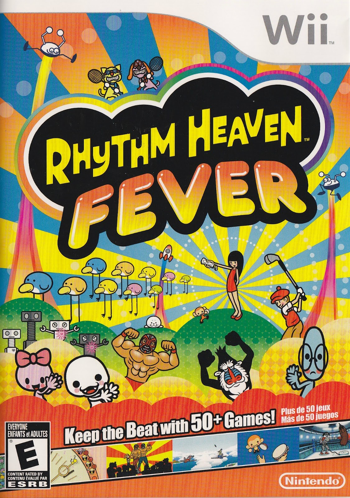 A Review: Simplicity + charm + rhythm = Rhythm Heaven Fever for Wii