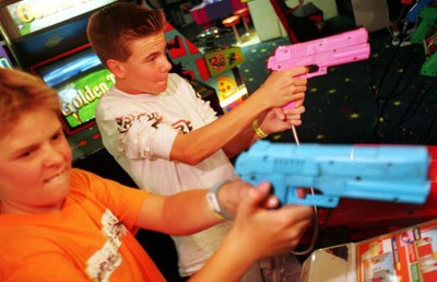 'video games involving violence or aggression Media violence and aggression  movies, video games, comic  although laboratory experiments involving noise blasts and electric shocks have been criticized.