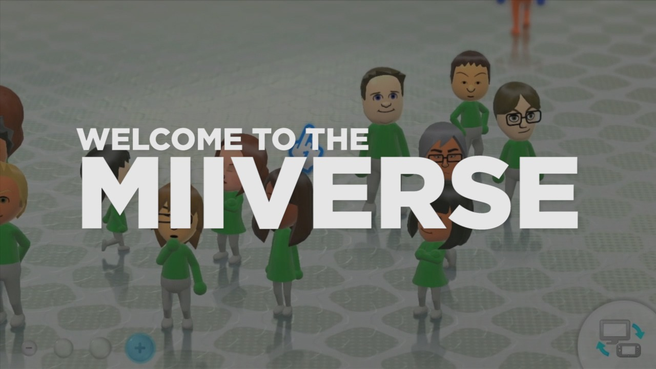 Miiverse adds Facebook and Twitter sharing