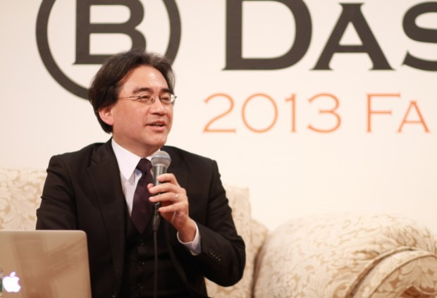 "Iwata: ""Nintendo is not good at competing so we always have to challenge"""