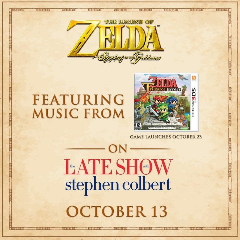 Symphony of the Goddesses to perform on The Late Show