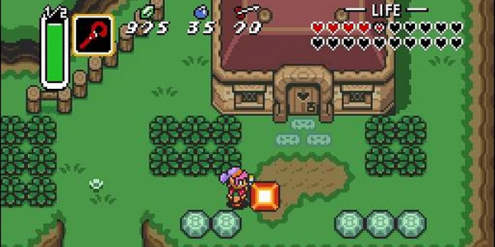 Zelda A Link To The Past Tops Gamepro S 30 Greatest 16 Bit